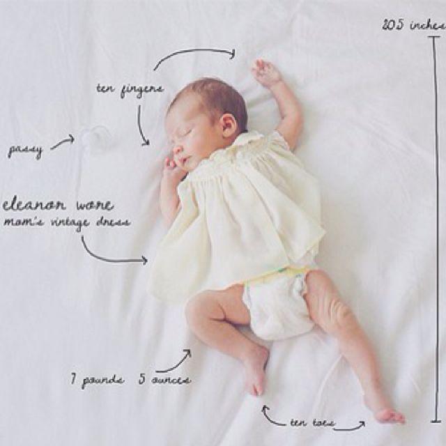 Cute Diy Birth Announcements