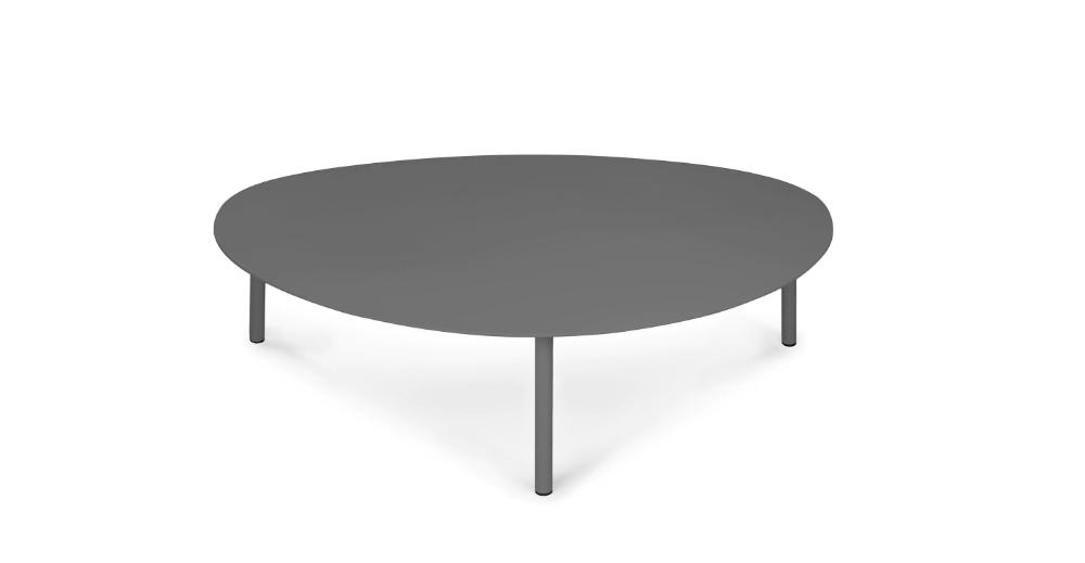 Nebu Dark Gray 44 Coffee Table In 2020 Modern Coffee Tables