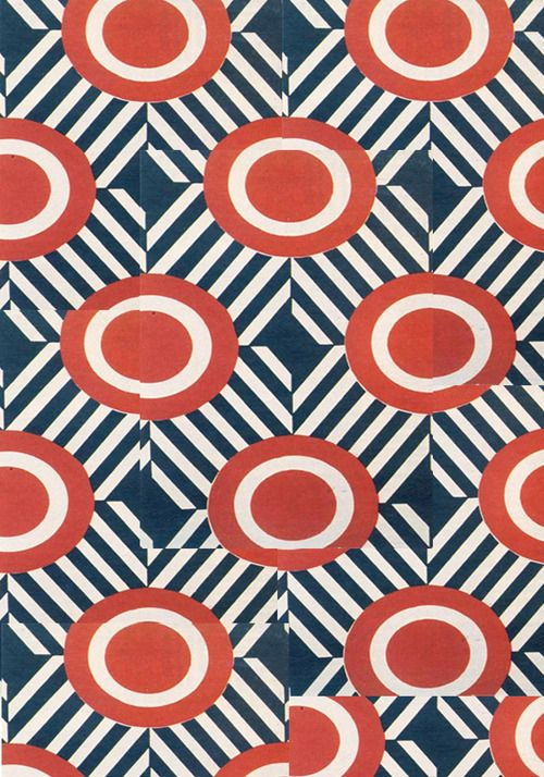 inland-delta: Liubov Popova, textile design(arranged), 1923-24 - Patternatic