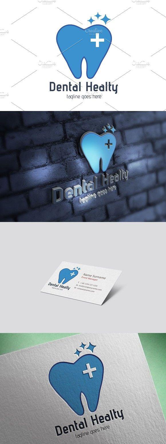 Dental Healty Logo Clinic design, Dental, Healty