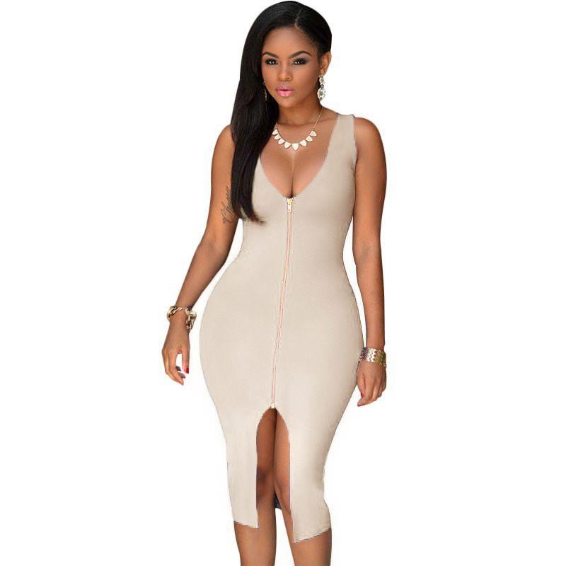 S 4XL 2016 Sexy Dress Club Plus Size Women Party Dresses Bodycon ...