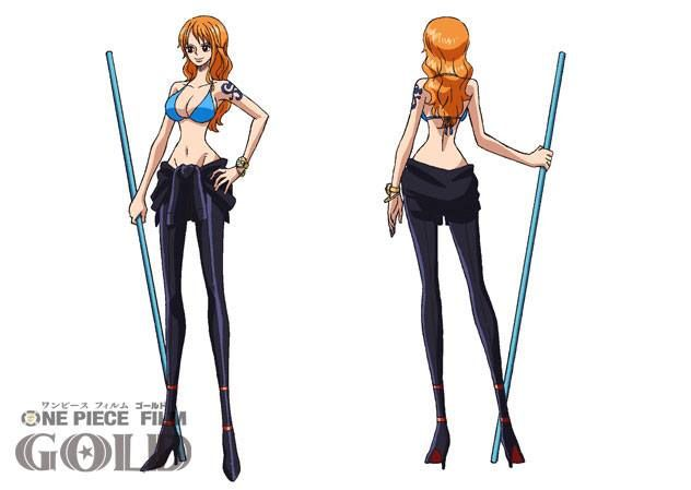 One Piece Gold Movie Straw Hat Pirates Outfits Revealed