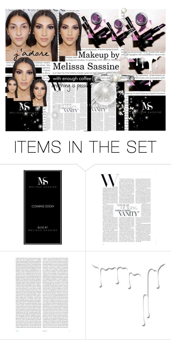 """""""Makeup by Melissa Sassine"""" by dalya-b ❤ liked on Polyvore featuring art and makeup"""