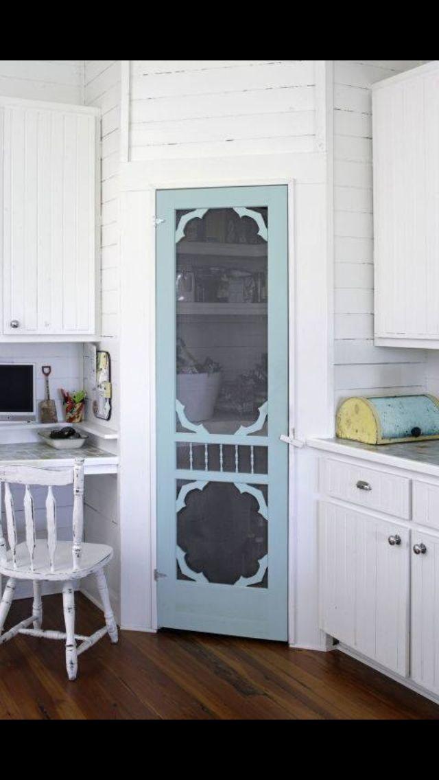 Farmhouse Pantry Door Shabby Chic Kitchen Decor Home Decor
