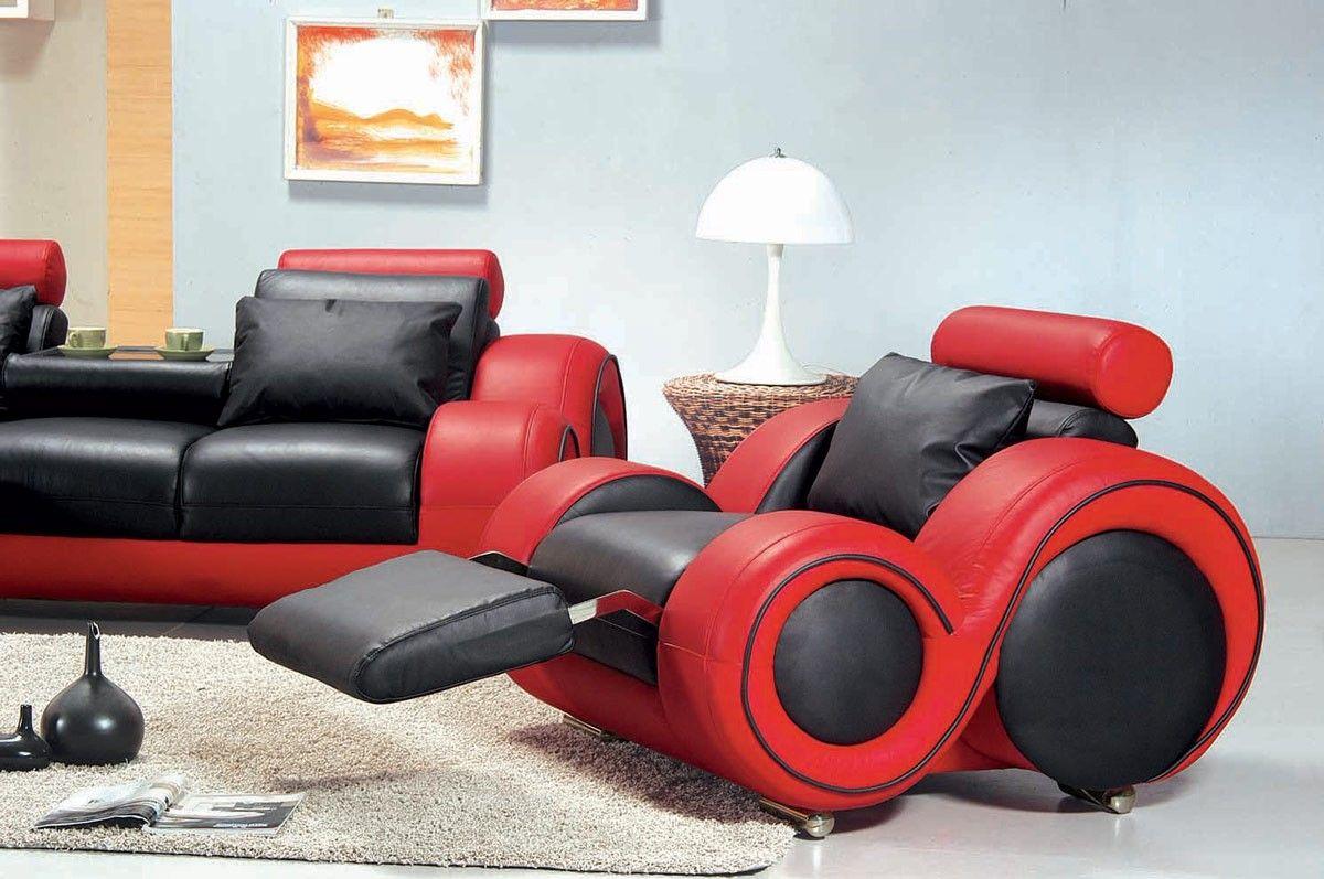 Red Sofa Set in 2019 | Velvet Sofa | Modern leather sofa, Red sofa ...