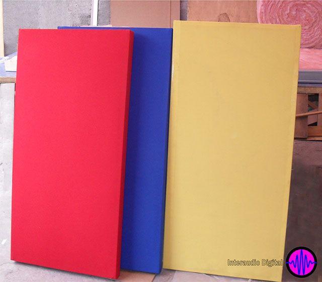 Interaudio Digital Interacustics Fibra De Vidrio Paneles Acusticos Diseno De Materiales