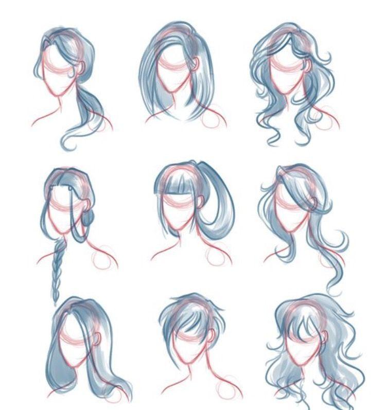 drawing hair draw comics