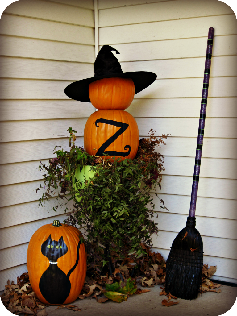 Pumpkin Topiary Ideas Part - 27: 25 Diy Halloween Decorations Ideas