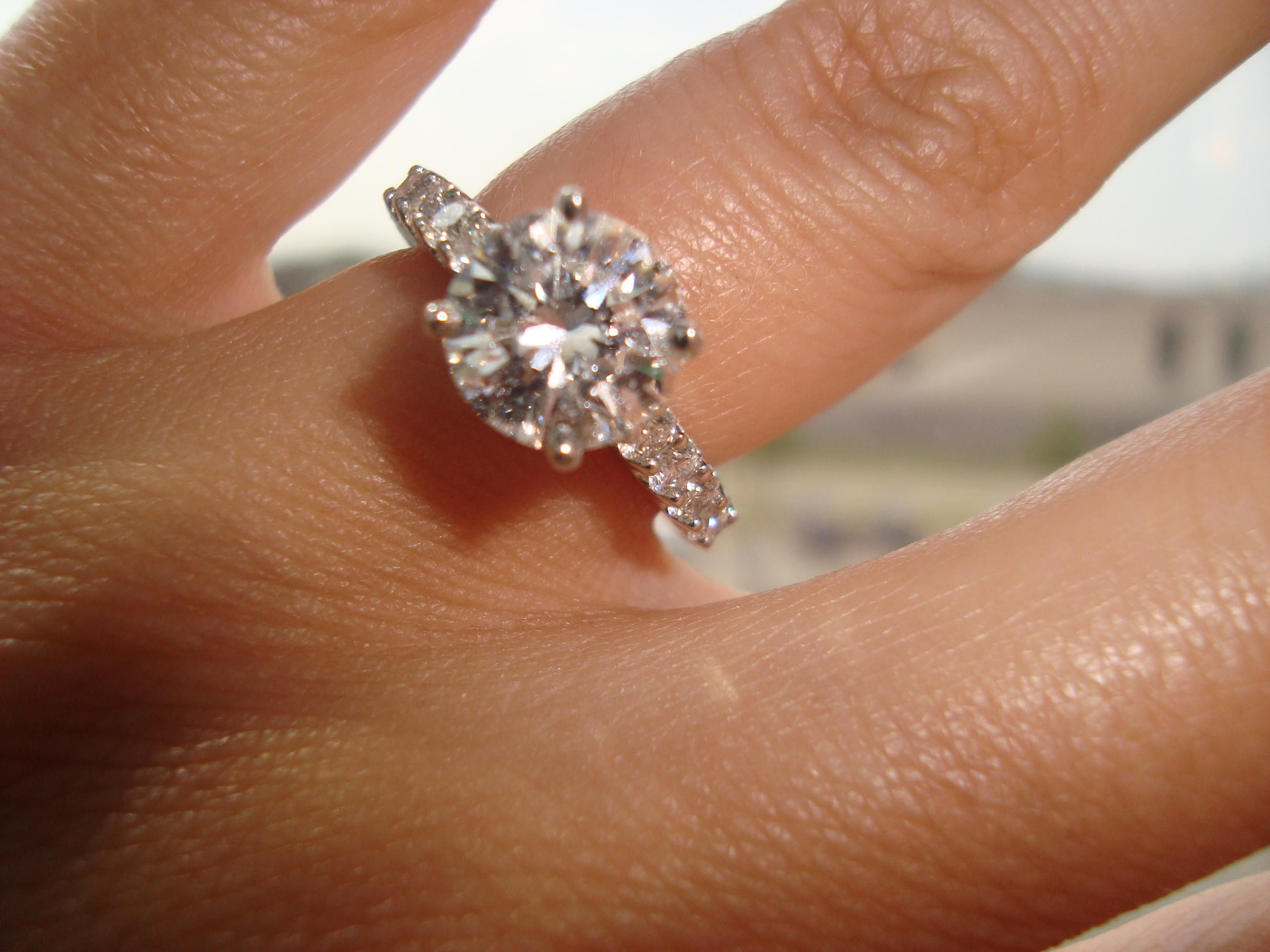 wonderful 2 carat engagement rings - 2 Carat Wedding Ring