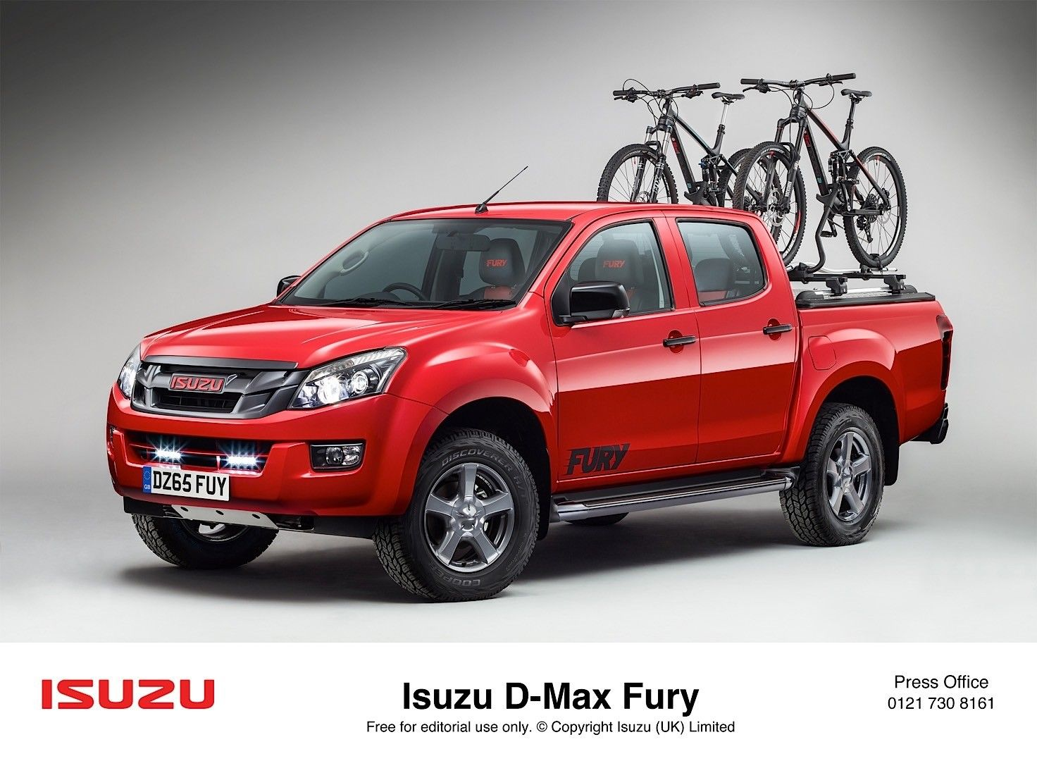 Isuzu DMax Range Adds Fury Variant, Has Nothing To do