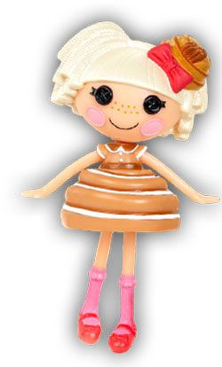 Totally in <3 with Lalaloopsy.  Bun Bun Sticky Icing looks delicious