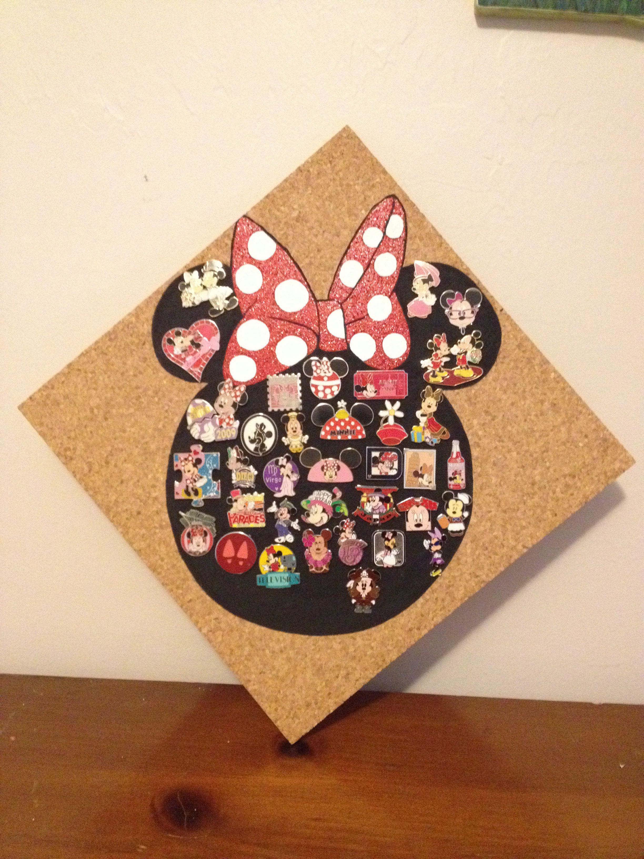 Minnie Mouse Disney pin display board   Disney pin display ...