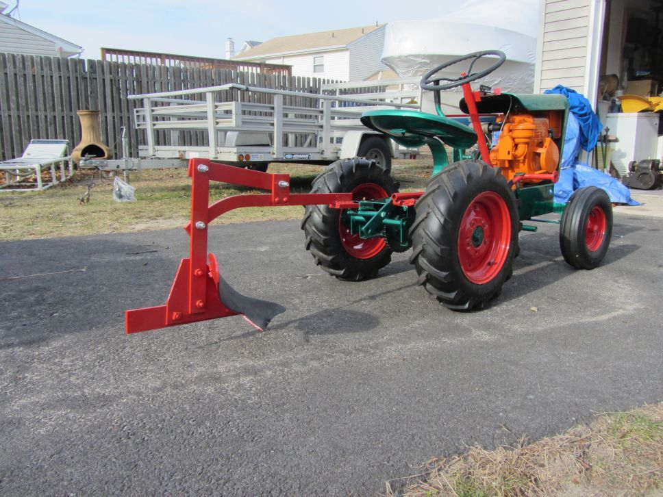1962 gemco big boy with single bottom plow garden