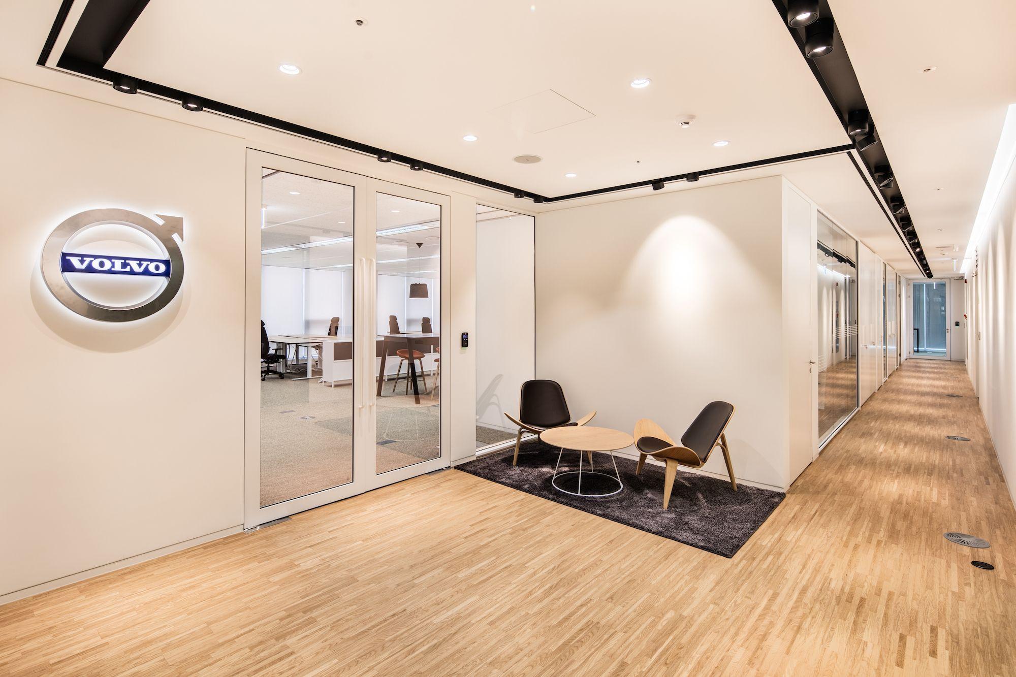 Volvo Car Group offices in Seoul, Korea. Interior design