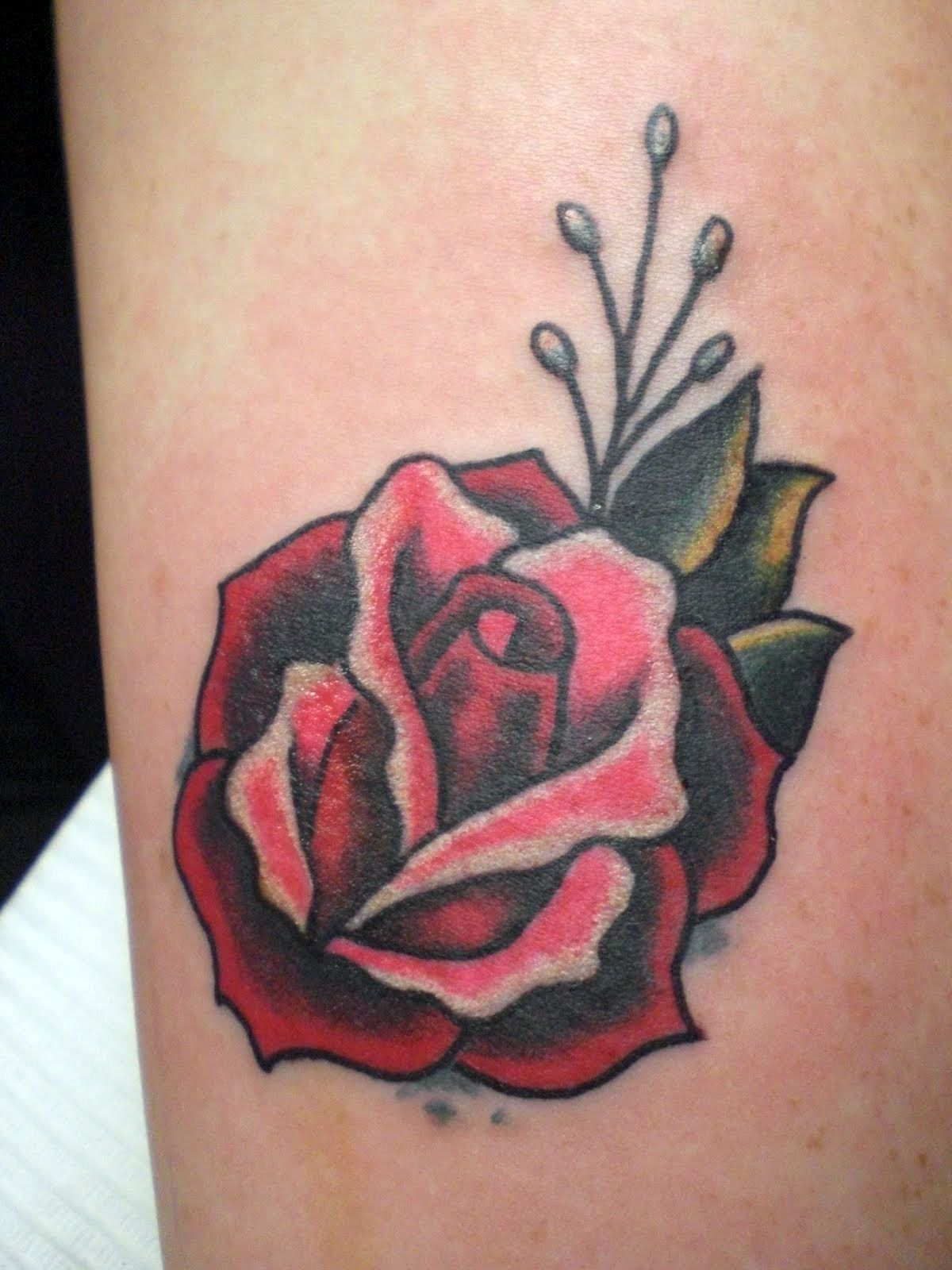 rose foot tattoo designs for women