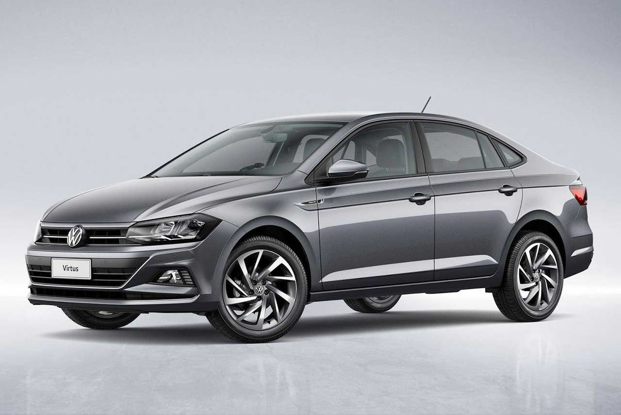 The 2018 Volkswagen Virtus Also Known As The New Vw Polo Sedan Has Made Its World Premiere In Sao Paulo Brazil It Will Reach The Dea Volkswagen Vw Polo Sedan