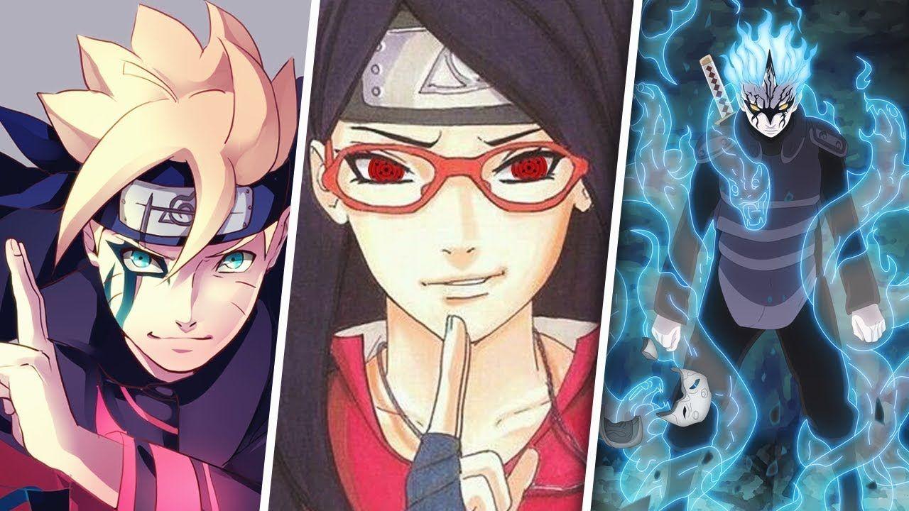 After The Whole Journey Of Naruto Ends His Son Boruto Uzumaki Comes To Take Place Of The Story And Continue His Father Boruto Boruto And Sarada Anime Naruto