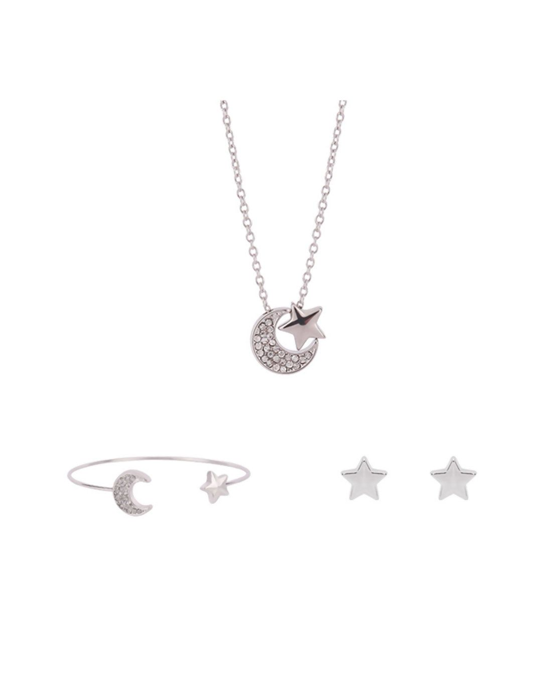 Adorewe vipme jewelry sets rich long silver gold plated star moon