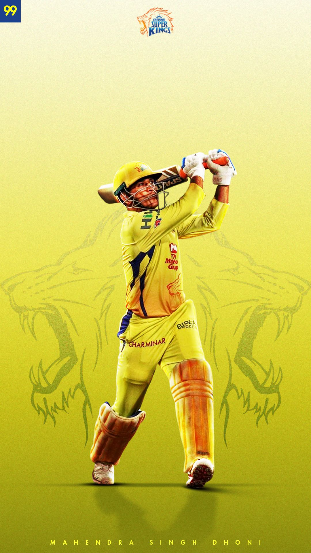 MS Dhoni Chennai Super Kings mahi7781 x chennaiipl