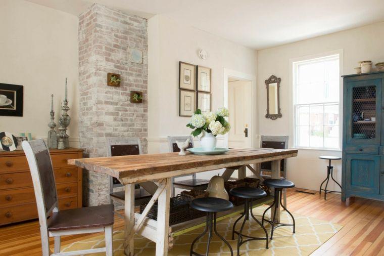 ideas para comedores pequeños Interiores para comedor Pinterest