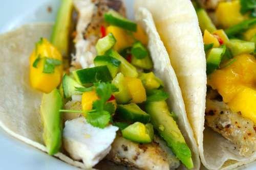Easy Gluten Free Fish Tacos With Mango Salsa Recipe Mango Salsa