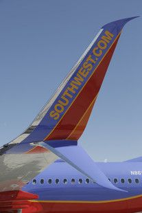 Southwest Airlines made its first revenue flight with Boeing 737-800