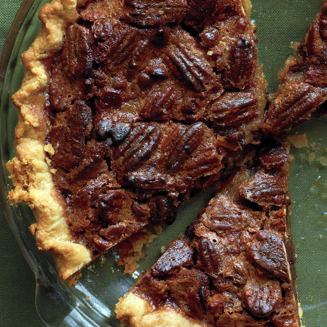For a sure-fire winner this time of year, nothing beats pecan pie. Let your little helpers add the pecans and chocolate chips, then measure and mix the easy filling ingredients.