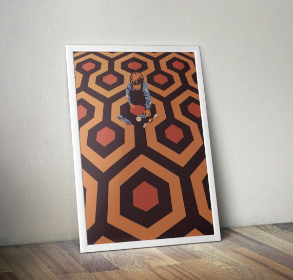 The Shining Danny Torrance Limited Edition Art Print by CreativeSpectator on Etsy https://www.etsy.com/listing/128798531/the-shining-danny-torrance-limited