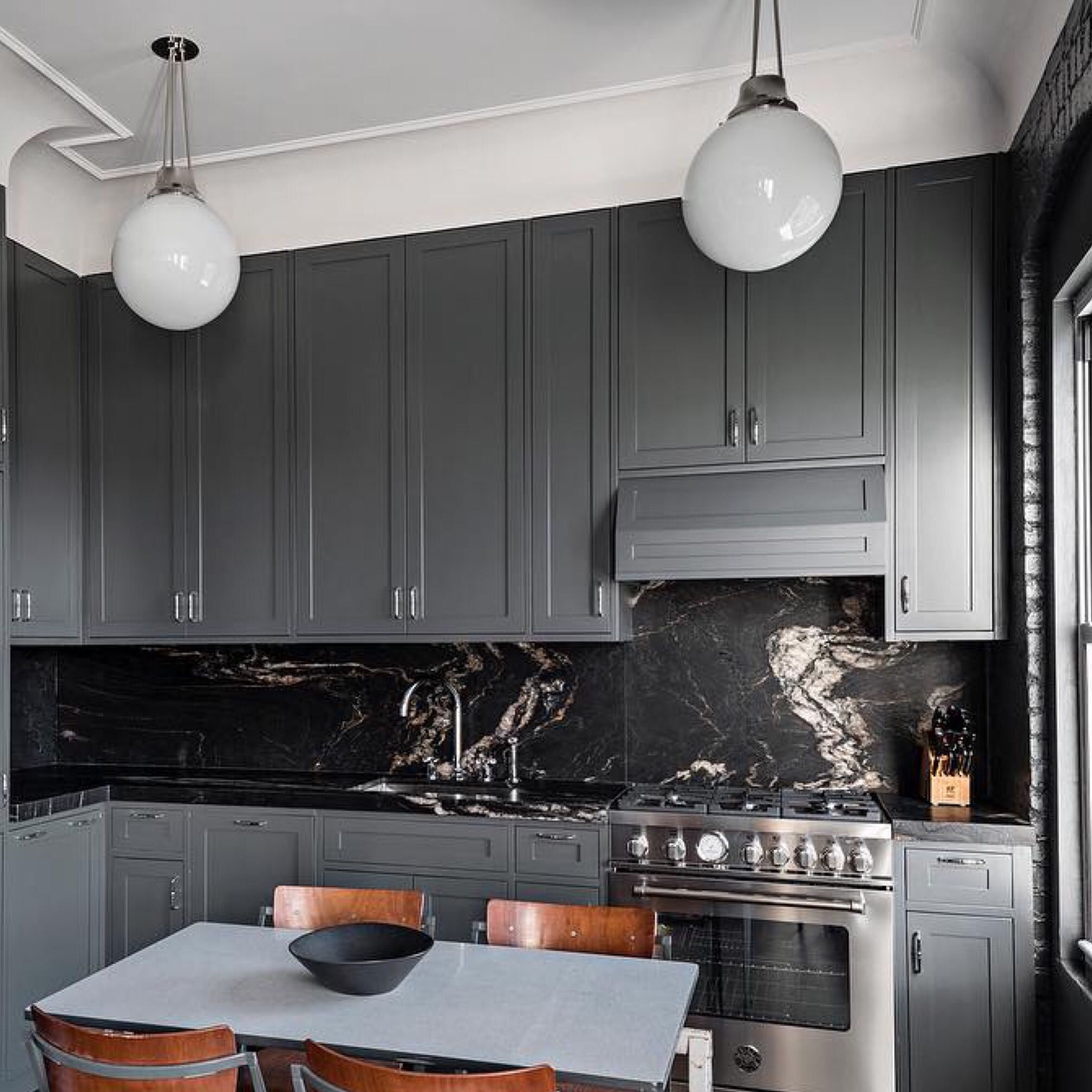 The always dependable classic grey Warren Street Pendants