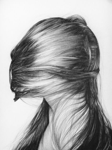 Hair, Drawing by Hannah Scott