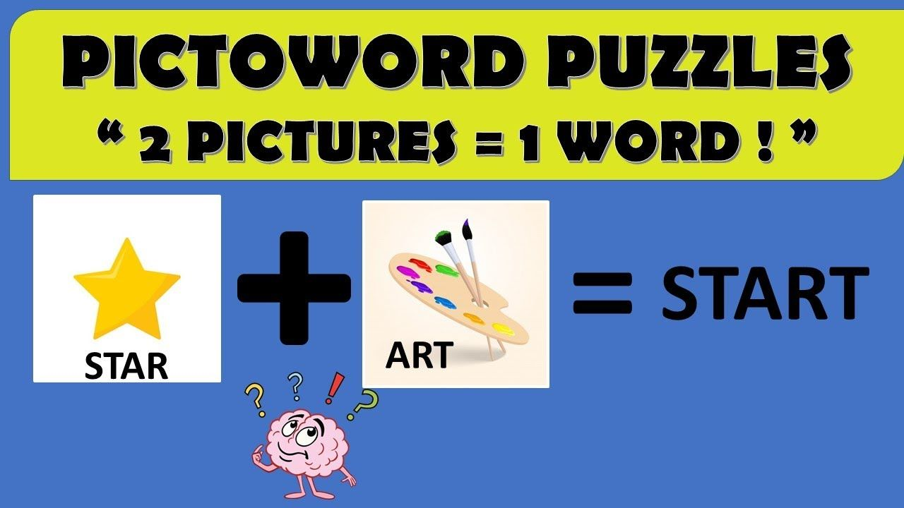 Pictoword Puzzles 2 Pictures 1 Word Rockclimbers 2020 Words Fun Quizzes Puzzles