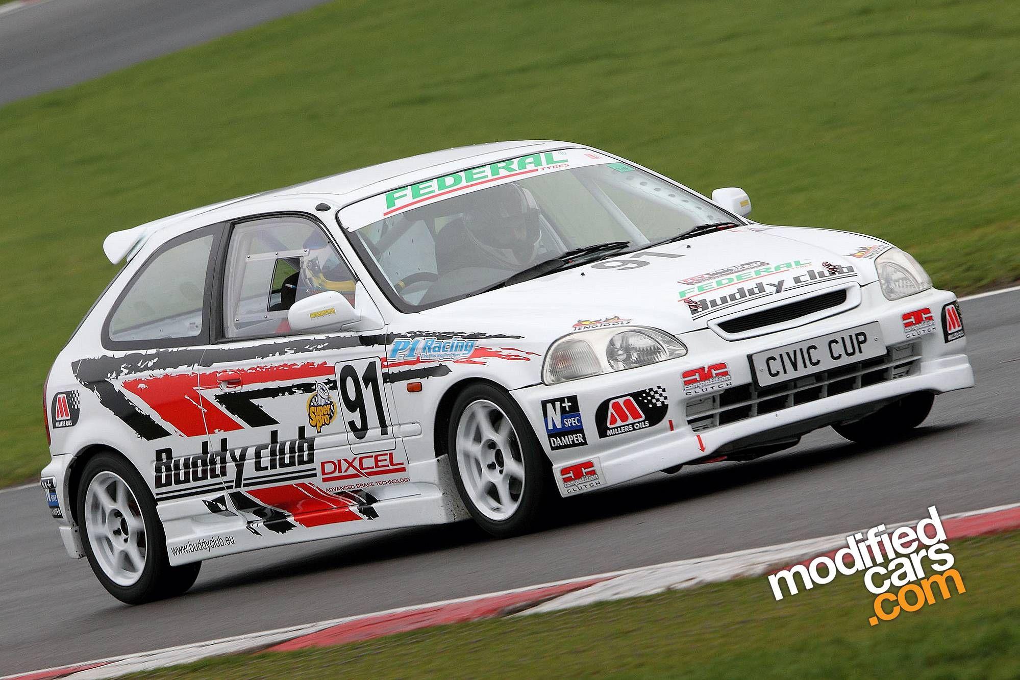 Honda civic ek type r race car fast cars pinterest for Honda civic race car
