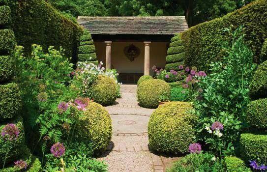 York Gate Leeds Uk One Acre Garden With 14 Rooms Lawn And Garden Garden Design Contemporary Landscape