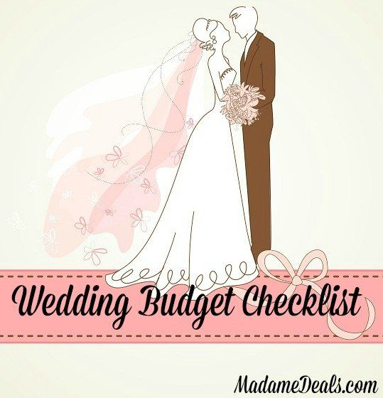 Have a wedding on a budget Get our Free Printable Wedding Checklist