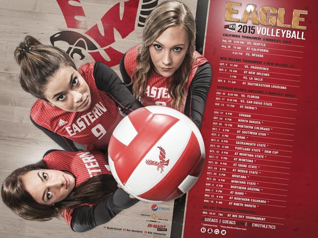Posterswag Com Top 30 Ncaa Volleyball Schedule Posters Smsports Sportsbiz Volleyball Posters Volleyball Senior Night Basketball Schedule