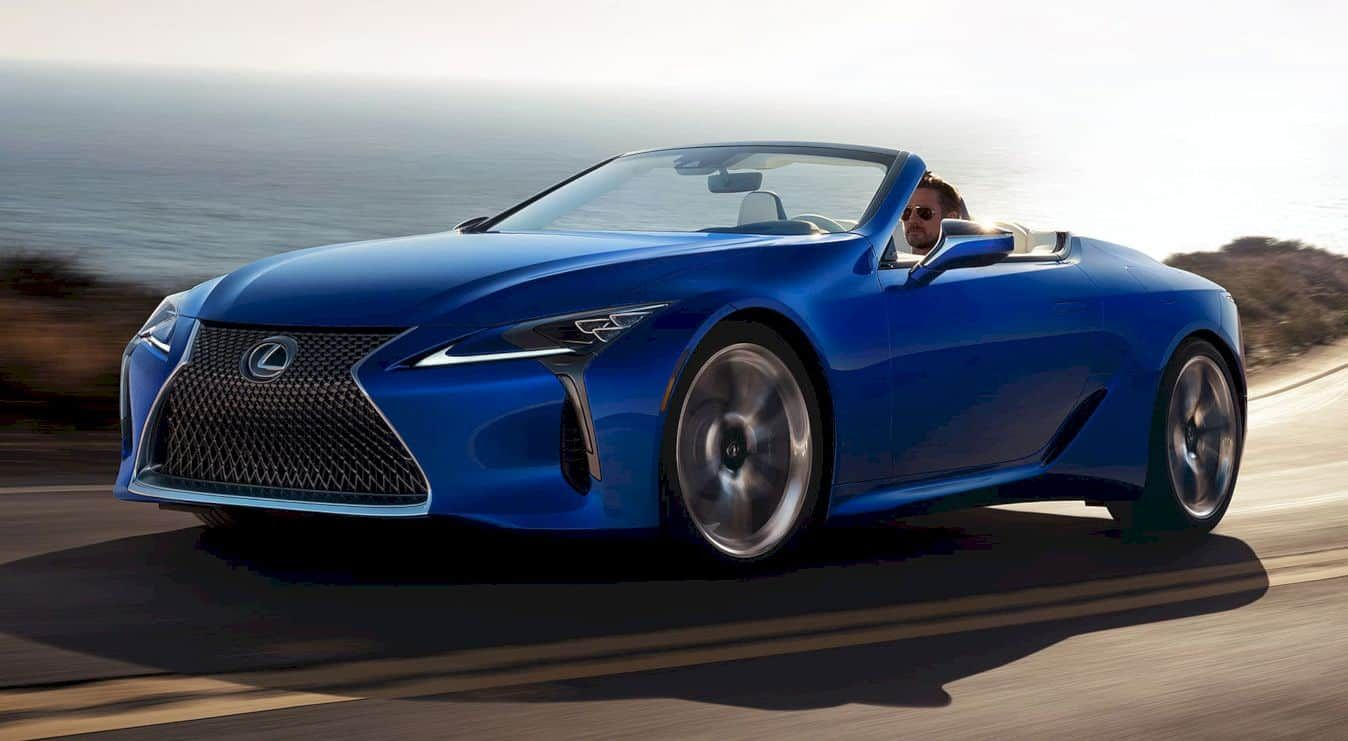 Lexus LC 500 Convertible Breathtaking Style and Unmatched