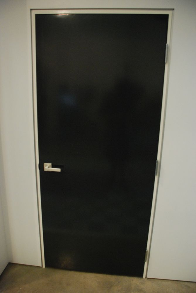 Reglet Reveal Detail In Lieu Of Door And Baseboard Trim In