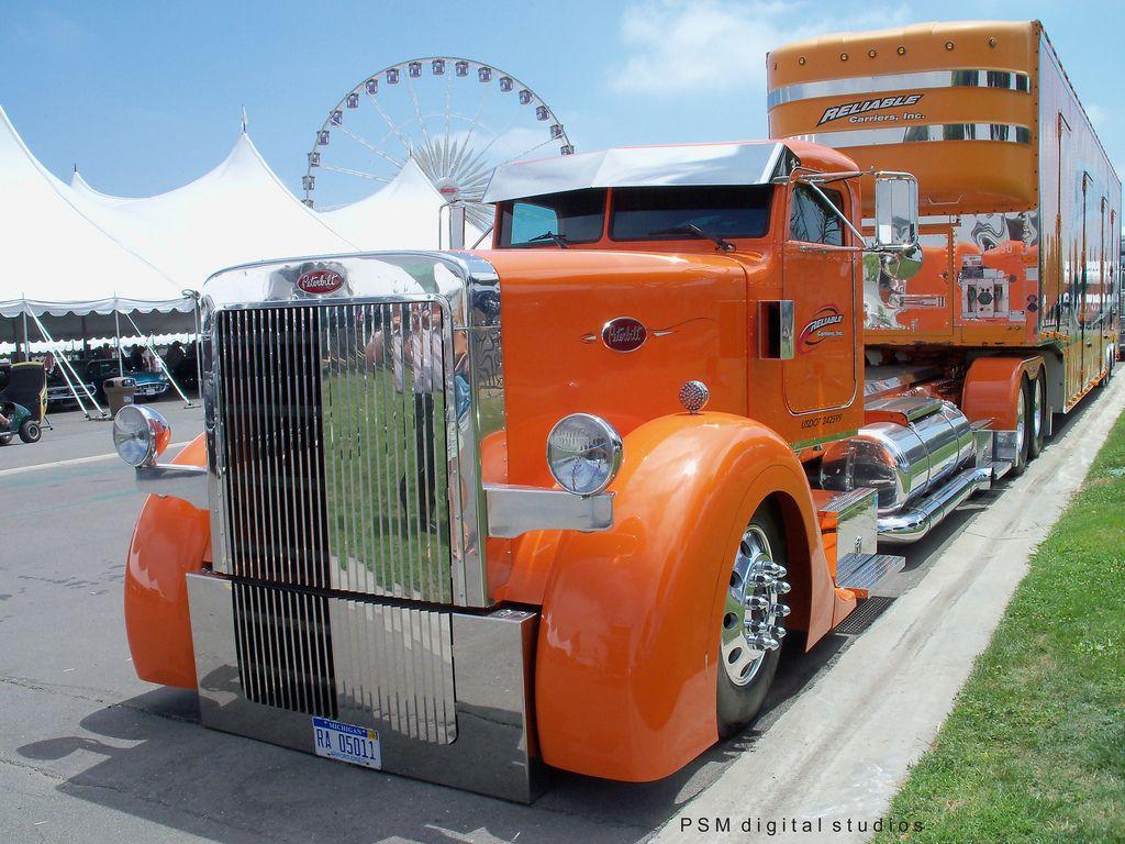 Car Hauler Trucks For Sale Big Rig Trucks Trucks Big Trucks