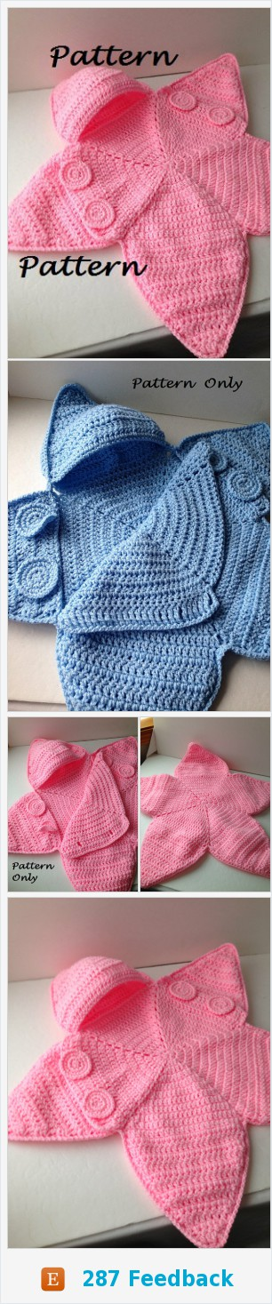 Pattern Crochet Baby Star Bunting Pattern Baby Bag Bunting ...