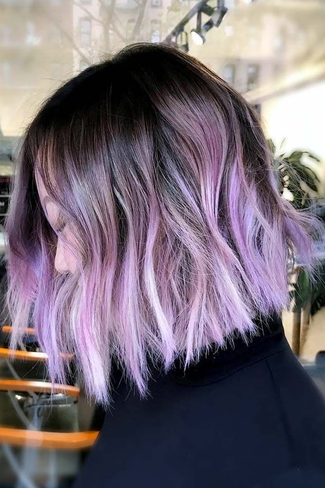The Packed Collection Of The Most Vivid Purple Ombre Hair Ideas Purple Ombre Hair Short Ombre Hair Hair Color Purple