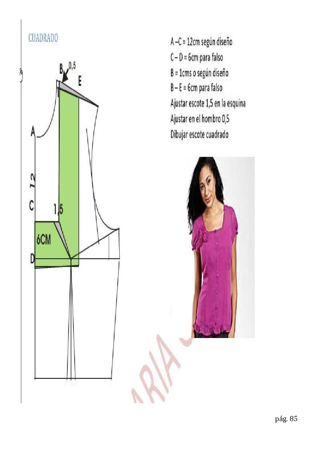 Cuellos 2 costura patrones | sewing and patterns and tips ...