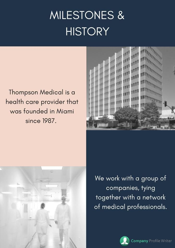 Pin by Company Profile Samples on Medical Company Profile