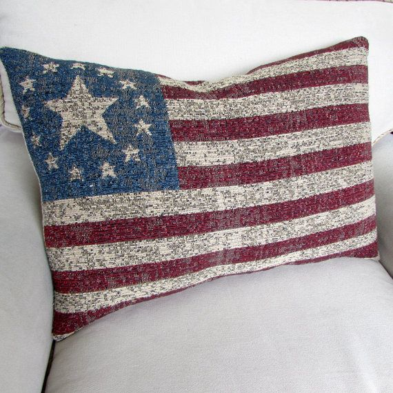 American Flag 17x24 Large Pillow Cover Large Pillow Covers Large Pillows Pillows