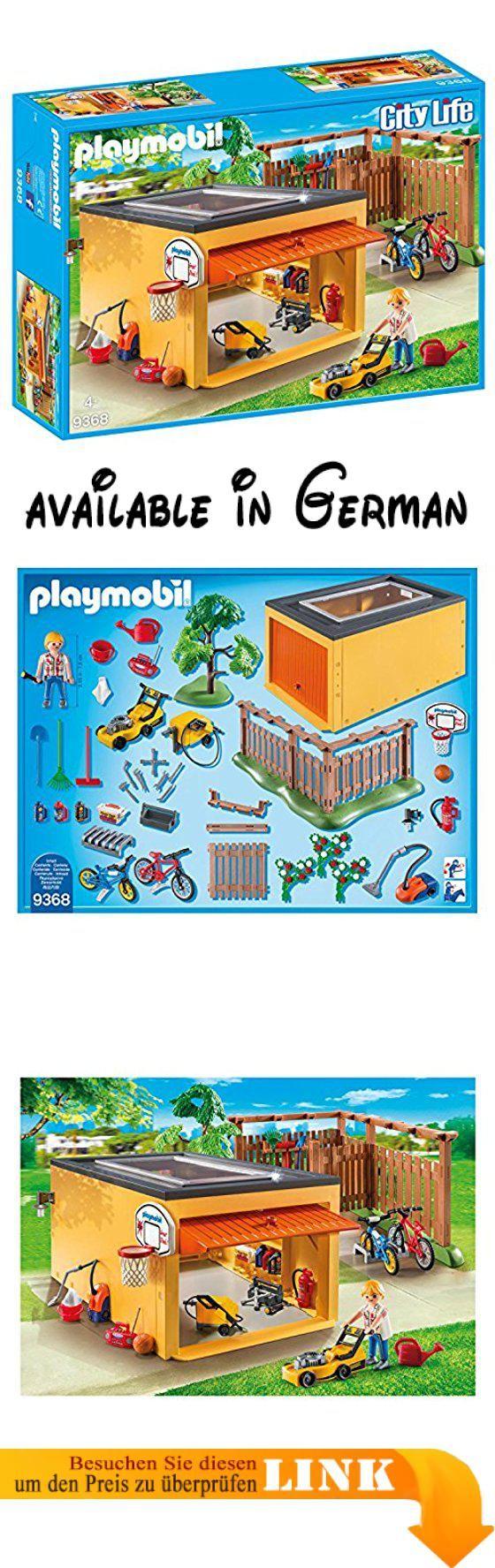 PLAYMOBIL 9368 Garage mit Fahrradstellplatz, Exklusivset. Matchcod: 43725262 #Toy #TOYS_AND_GAMES