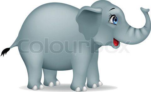 loving the eyes Elephant clip art, Elephant, Cartoon