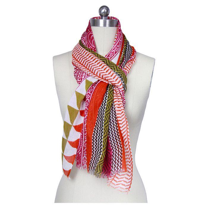 Gorgeous multi-print/color scarf.