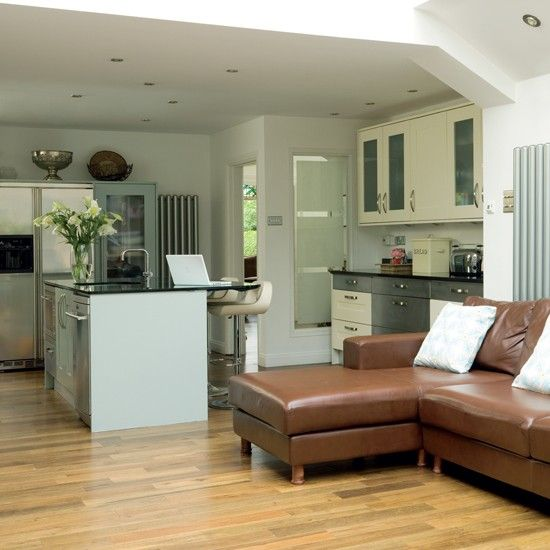 Kitchen extensions open plan kitchen open plan and for L shaped living room and kitchen