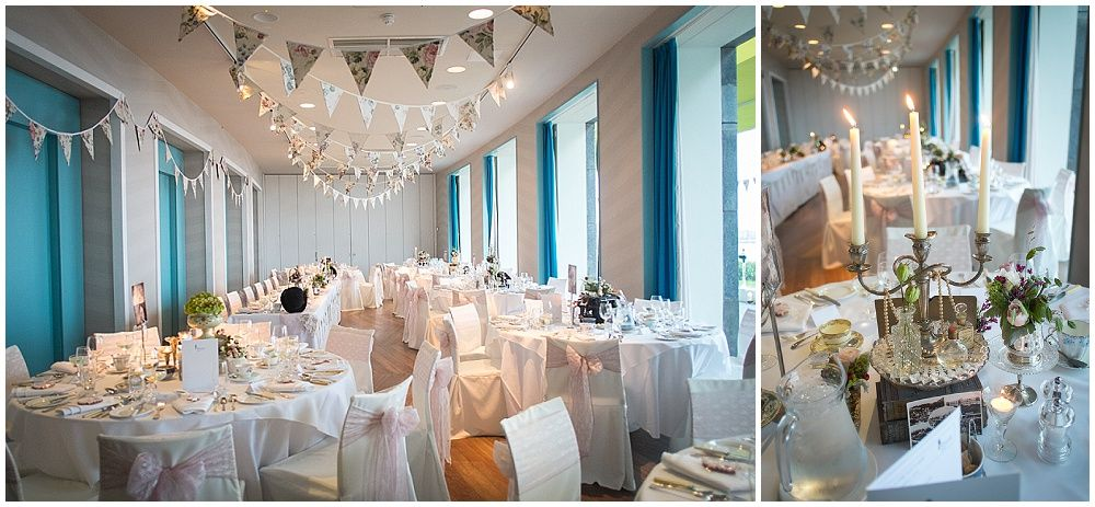 Chair Covers Morecambe Amazon Ball Hotel Sept 2014 Styling Props Vintage China And Bunting By