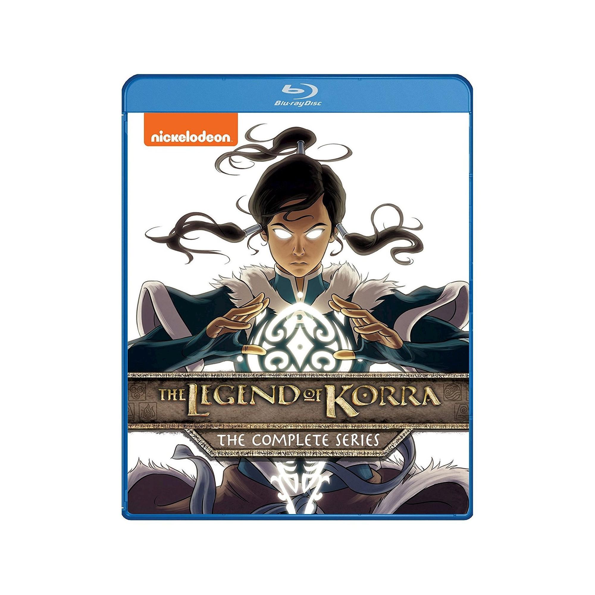 Legend Of Korra The Complete Series Blu Ray Legend Of Korra
