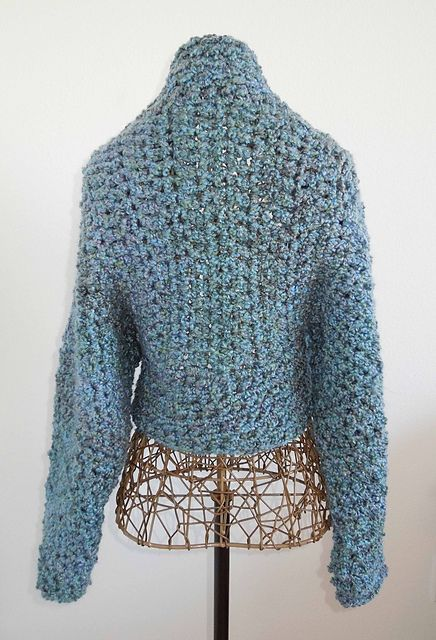 Queerassocks Free Pattern No Seam Crochet Shrug By Michelle The